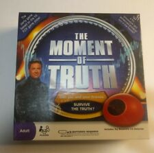 The Moment Of Truth Board Game - New - Factory Sealed Nib