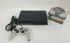Sony PlayStation 3 PS3 Super Slim 500GB Console Bundle 14 Games CECH-4201C