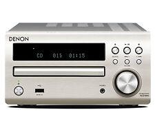 Denon DM40DAB Micro DAB CD FM System Silver DM-40DAB