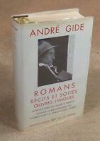 LA PLEIADE :  ANDRE GIDE - ROMANS RECITS ET SOTIES... / 1961