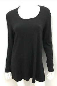 Near new! ELEMENTE CLEMENTE Black Virgin Wool Blend jumper ~ sz 1 / 12+