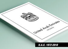 PRINTED UNITED ARAB EMIRATES [U.A.E.] 1972-2010 STAMP ALBUM PAGES (138 pages)