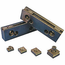 MITEE-BITE PRODUCTS INC Steel Jaw Set,Vise Jaws,6in,PK2, 32066