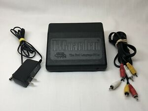 TV Guardian TVG The Foul Bad Language TV Filter w/ Power Supply, AV Cable- WORKS