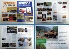 Mercedes Benz Unimog Zeitschrift 1/2001 + 2/2001 Magazin Zeitung