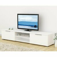 "Tvilum Match 67"" TV Stand in White High Gloss"