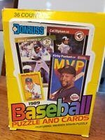 Donruss 1989 Baseball Cards Unopened Wax Box