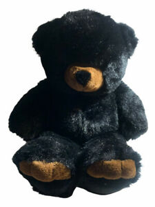 """Vintage The JCPenney Collection Black Teddy Bear Large 24"""""""