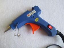 Blue 20W Mini 7MM Electric Heating Hot Melt Glue Gun Professional Tool U1