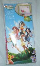 Disney Tinkerbell Pillow Sham case Fairies Tink Tinker Magic Art new..