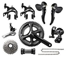 Shimano 105 5800 2 x 11 Speed 50/34 11-32T Bike Groupset Build kits 172.5mm