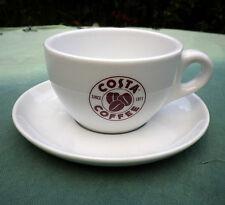 Costa Coffee Cappuccino Mug 8 fl oz with Saucer