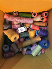 10KG Emploi Lot - Aléatoire Bobines Coloré Craft Boulangerie Fil Coton Et Jute