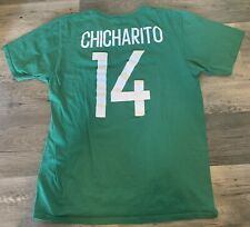 ADIDAS Chicharito Mexico National Team Green Go To Name & Number T-shirt Large