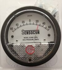 Sensocon Differential Pressure Gauge 120PA alternative to Dwyer Magnehelic