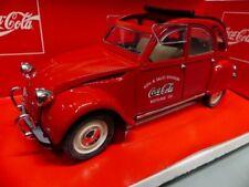 1/18 Solido Citroen 2CV Coca Cola 9509
