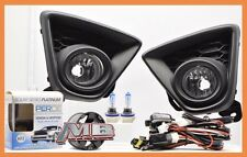 2013 2014 2015 Mazda CX-5 Clear Fog Lamp Kit with Wiring/Switch Mazda CX 5 PERDE