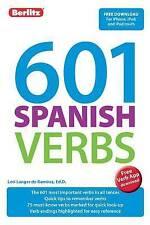 NEW 601 Spanish Verbs (601 Verbs) by Berlitz Publishing