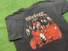 New listing Vtg Original Slipknot 1999 Blue Grape Concert Band T Shirt Sz Xl Vtg 90s Mint