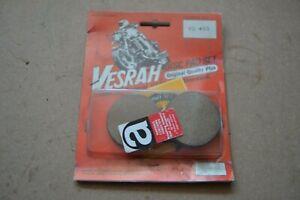 Kawasaki KZ400 KZ400D front brake pads , Vesrah VD-403