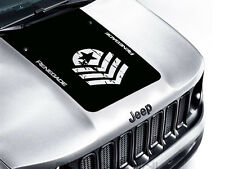 Jeep Renegade Trailhawk Hood Bonnet Front Vinyl Decal Sticker Army Star