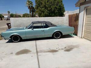 1966 66 Oldsmobile Cutlass Convertible 5.4 330 4bl Original OE Crusier