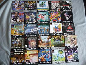 PlayStation 1 PS1 ★ Spiele zur Auswahl Klassiker Sammlung  ★ SEHR GUT