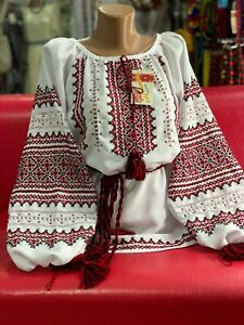 Ukrainian HANDMADE Embroidered Blouse Vyshyvanka Hand embroidery
