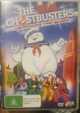 THE REAL GHOSTBUSTERS RARE DVD COMPLETE FIRST SEASON CARTOON SERIES TV ANIMATION