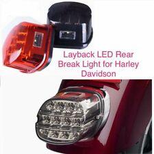 Layback LED Rear Break Lights For Harley Davidson Motorcycles