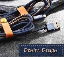 Apple MFi Certified Lightning Cable - Denim