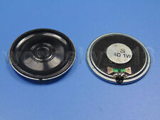 2pcs 8ohm 8Ω 1W Audio Woofer 40x4.7mm Stereo Speaker Small Trumpet for DVD & EVD