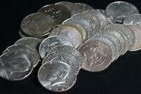 Lot of 27 Mixed Dates Kennedy 40% Silver Half Dollars 50C Coins - $13.50 Face