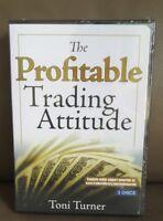 NEW Factory Sealed DVD - Toni Turner (Author) - The Profitable Trading Attitude