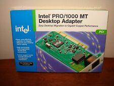 Genuine INTEL PRO/1000 MT Desktop Adaptor - Gigabit PCI - NEW/SEALED