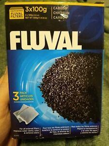 Fluval Carbon, 3 x 100 g (3.5 oz) nylon bags