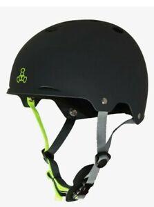 Triple Eight (SZ LARGE) Gotham Black Water Helmet for Wakeboard/Waterskiing NWT