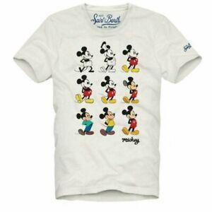 Camiseta MC2 SAINT BARTH Estampado Mickey Mouse Hombre