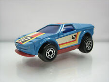 Diecast Majorette Motor BMW Turbo Blue Good Condition