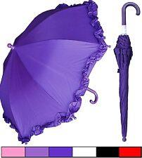 "Lot of 12 - 32"" Arc Child Kid Parasol Style Umbrellas - RainStoppers Rain/Sun UV"