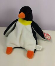 WADDLE, 1ST GENERATION TUSH TAG, 3RD GEN HANG, Penguin, Ty Beanie Baby RARE