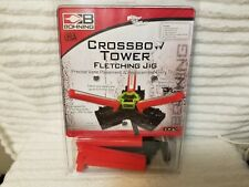 NEW IN OPENED BOX BOHNING USA #20112 CROSSBOW TOWER FLETCHING JIG NEW