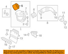 AUDI OEM 14-16 Q5 Engine-Air Cleaner Filter Element 8K0133843D