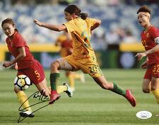 Sam Kerr Signed JSA COA 8X10 Australian Soccer Photo Auto Autographed Samantha