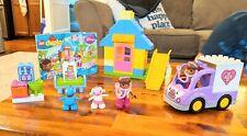 LEGO DUPLO Doc McStuffins BACKYARD CLINIC 10606 building pieces + AMBULANCE