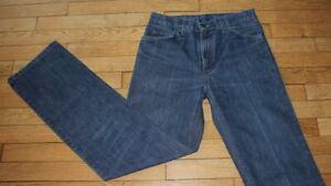 LEVIS 566 Jeans pour Femme W 31 - L 34 Taille Fr 40 (Réf #O101)