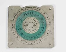 VINTAGE SOVIET RUSSIAN radiation Calculator A-bomb nuclear yield circular slide