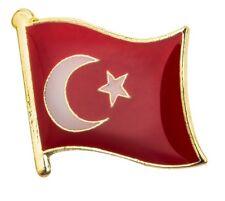 Turkey Flag Pin Lapel Badge Turkish High Quality Gloss Enamel