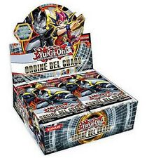 Ordine del Chaos 24 Booster Box 24 Buste YU-GI-OH! NUOVO in ITALIANO