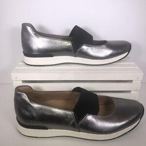Vionic Cadee Metalic Size 9.5 Slip On Elastic Band Shoes